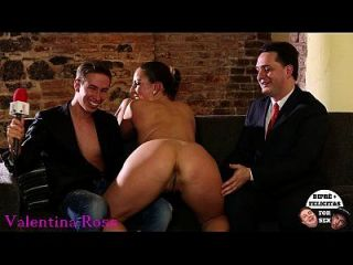 Alexandra ross testeing the driver german sound Part 7