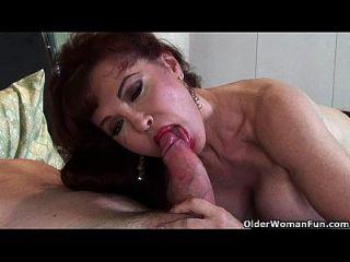 reife milf sexy vanessa liebt cum auf ihrem gesicht