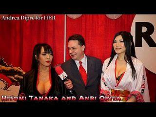 hitomi tanaka mit anri okita: blowjob lektion für andrea diprè