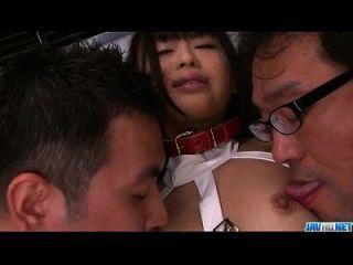 chika ishihara niedlich teen genagelt in hervorragenden asiatischen gangbang