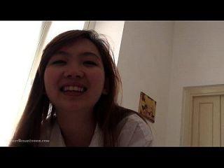 erstaunlich niedlichen Spaß asiatischen 18yo Teen Sex zu Hause