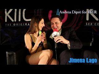 jimena lago masturbiert sich mit einem lollipop für andrea diprè