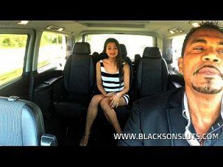 schwarze Taxifahrer Pfund Alicia Poz