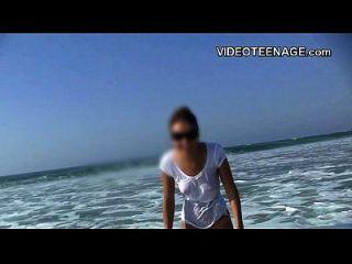Sexy Teen Gefickt Die Strand