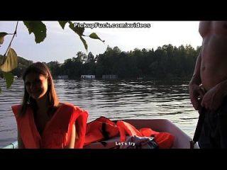 drei Männer in einem Boot (um nichts von einem Pick-up-Mädchen zu sagen) Szene 3