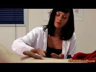 cfnm femdom krankenschwester eden james geben kopf