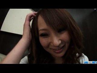 Rika Kurachi Japanisch Hottie geht böse auf Hahn