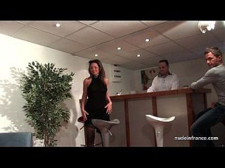 ffm französisch reifen Arsch gefickt für ihre Amateur Casting Couch mit einem Redhead Schlampe