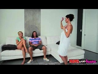 indien sommer und kate england nasty threesome session