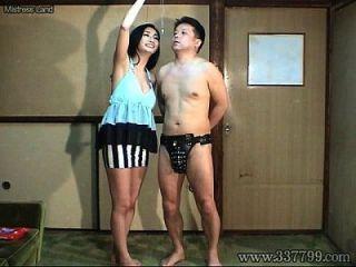 mldo 091 masochist Ehemann ist Ejakulation von Keuschheit Gürtel an Frau verwaltet.
