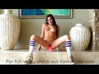Kaley Kade reitet einen Saugdildo verifiziertes Profil