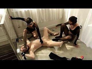 Psycho lesbische Strumpfhosen Orgie