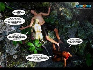 3d comic: erbe Episoden 28 29. magesleep ... der erste ...