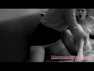 zwei mormonmädchen haben rauen sex