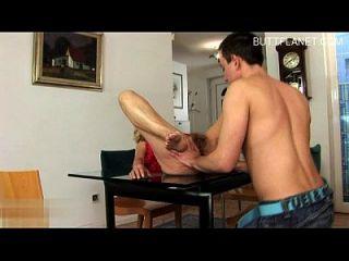 italienischen reifen Bondage Orgasmus