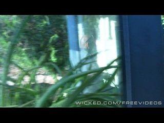 wicked samantha rone wird auf versteckte Kamera gefangen