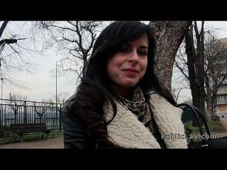 tschechisches Babe von der öffentlichen Banging für Bargeld im Hotelzimmer