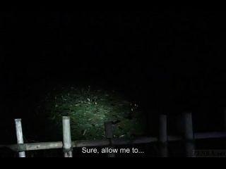 untertitelte japanische Geistjagd verfolgte Parkuntersuchung