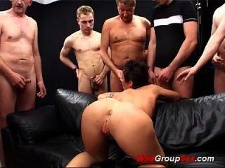 extreme bukkake anal orgie