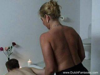 chubby niederländische massage \u0026 grobe fuck