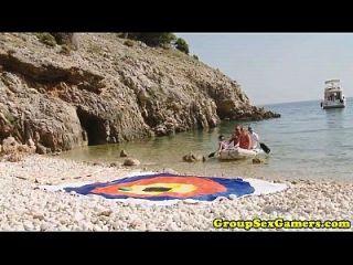 Gaming Beach Babes Reiten und Saugen