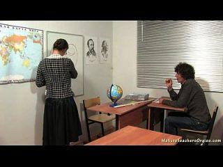russische reife lehrerin 5 irina (geographie lektion)