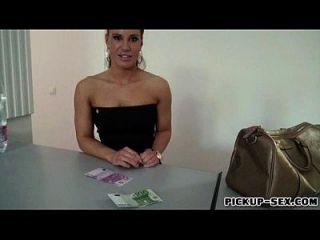 Agent tschechisches Mädchen genagelt von fremden Kerl im Austausch für Bargeld