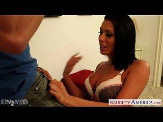 hot brunette Frau rachel starr bekommt Pussy geleckt und gefickt