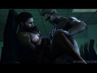 resident böse anal penetration studiofow