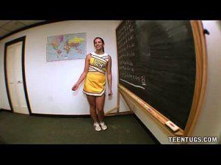 jugendlich Student wichst von ihrem Lehrer