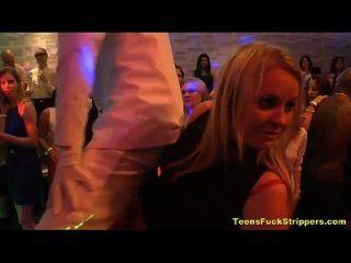geile Teens blasen und bang strippers bei cfnm party