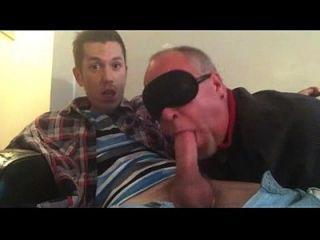 Gay Daddy saugen seinen Twink Dick