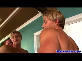 muskulöser Pornostar Gaysex mit Brady Jensen
