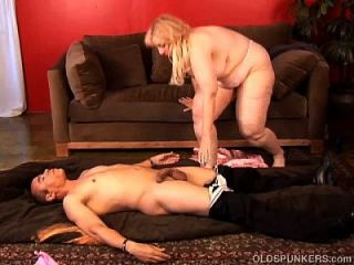 super sexy reifen blonde bbw ist ein sehr heißer fuck