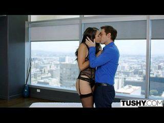 Tushy Betrug Frau Allie Dunst liebt anal