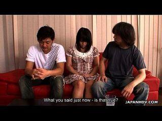 slutty asian wird mit mehreren orgasmen bestraft