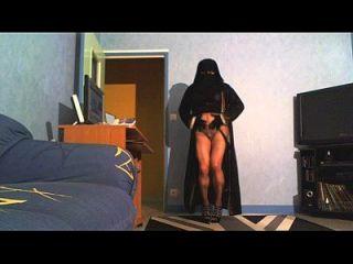 djellaba et niqab