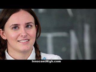 unschuldig scharfe Schulmädchen fickt ihre Rede Lehrerin