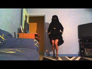 sexy danse en niqab