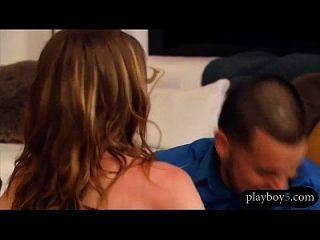 Amateur-Swinger-Paare mit einer Orgie im Playboy-Haus