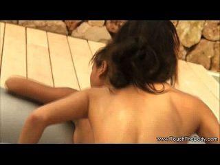 Mädchen Mädchen Massage Praxis