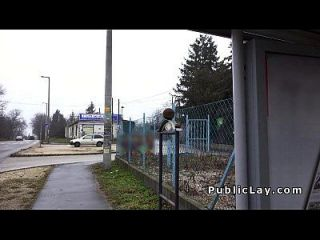 busty ungarischen Amateur fickt für Bargeld