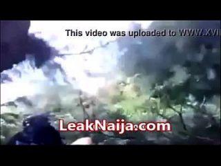 afrikanische verheiratete Frau gefangen Sex mit Okada Mann in Busch leaknaija