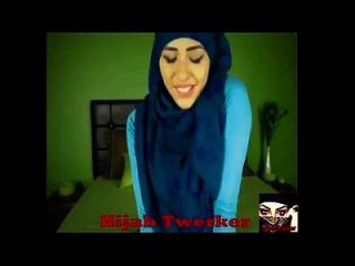 Hijabi Mädchen Twerk fünf Video zusammen