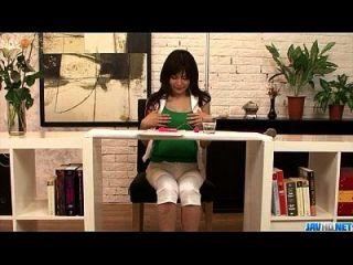 Milf in Hitze Karen Natsuhara verschlingt Hahn in Pov