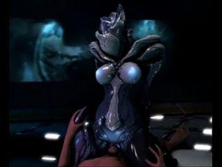 3d alien pussy reitet menschlichen hahn