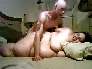 magerer Kerl seine Super Sized Fett bbw Ex-Freundin ficken