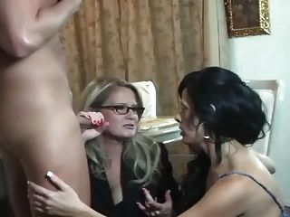 Hot Mama-Freund-Sohn Dreier
