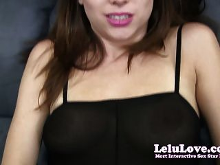 Lelu Liebe-Sekretärin Fick Handjob saugen
