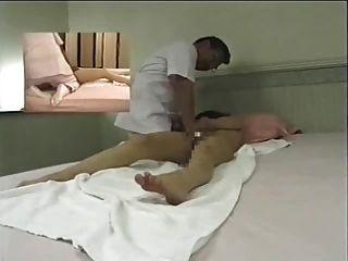 japanische Massageraum - hidden cam